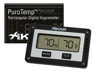 Xikar Digital hygrometer 4-kant