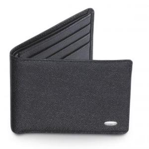 Dalvey Slim Wallet Black Caviar