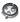 Davidoff Round Cutter Round cutter svart lack / glas