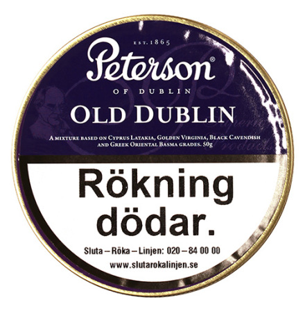 Peterson Old Dublin 50 gr