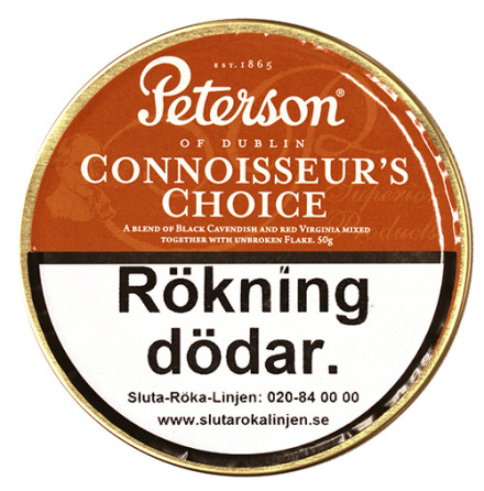 Peterson Connoisseur's Choice 50 gr